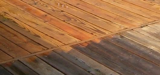 wood decking cleaning